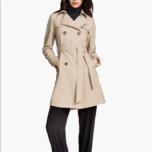 NWT H&M Trench Coat Size 6